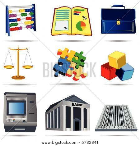 Accounting Icons Set 1