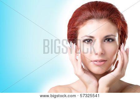 Fresh Skin Face.Hygiene Skin Face