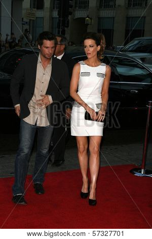 Kate Beckinsale and husband Len Wiseman at the