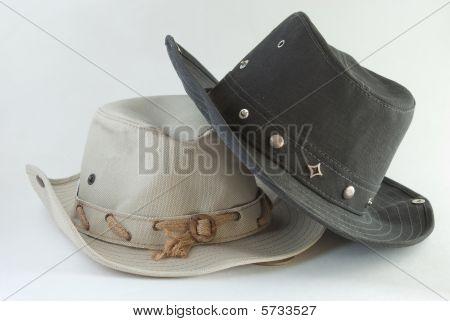 Two Cowboy Hats