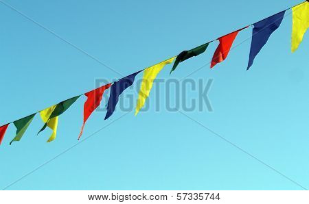 Awesome color flag