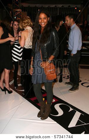 Joy Bryant at Rodeo Drive Celebrates Fashion's Night Out, Beverly Hills, CA. 09-10-10
