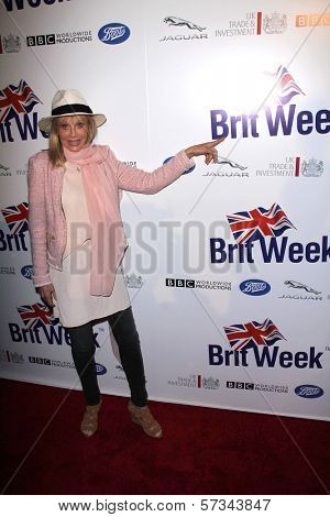 Britt Ekland at the Official Launch of BritWeek, Private Location, Los Angeles, CA 04-24-12