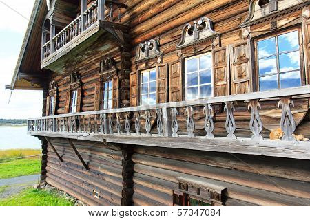 Wooden Old House, Kizhi