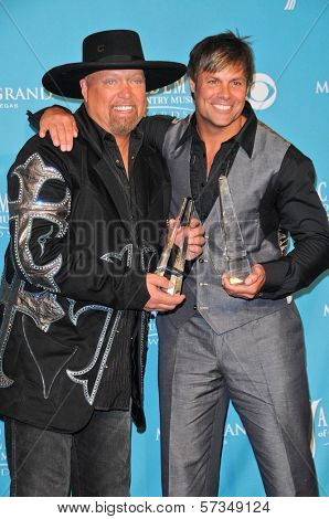 Montgomery Gentry at the 45th Academy of Country Music Awards Press Room, MGM Grand Garden Arena, Las Vegas, NV. 04-18-10