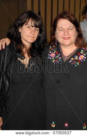 Allison Anders and daughter Tiffany at the Los Angeles Premiere of