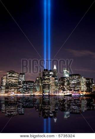 Tribute in light, New York