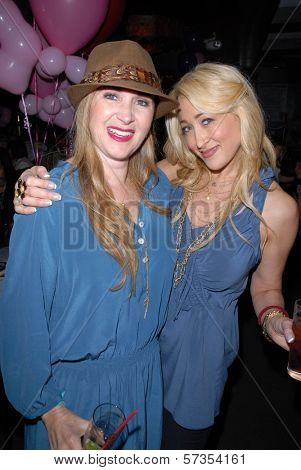 Jenise Blanc and Jennifer Blanc-Biehn at Jennifer Blanc-Biehn's Birthday Party, Sardos, Burbank, CA. 04-23-10