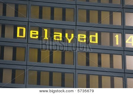 airport billboard