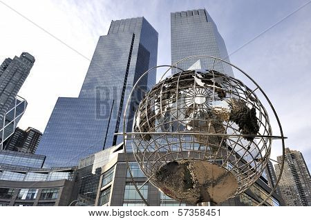 Globe At Columbus Circle - Manhattan - New York