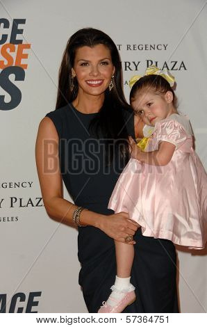 Ali Landry and daughter Estela Monteverde at the 17th Annual Race To Erase MS, Century Plaza Hotel, Century City, CA 05-07-10