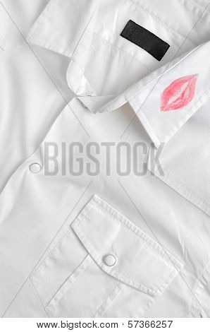 Shirt With Lipstick Kiss