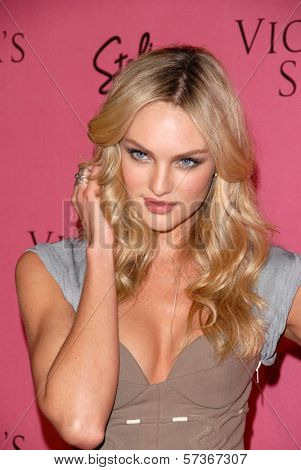 Rosie Huntington-Whiteley  at the Victoria's Secret Supermodels Celebrate the Reveal of the 2010