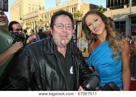 Bartholomew E. Throckmorton III and Edyta Sliwinska at the 'Letters To Juliet' Los Angeles Premiere, Chinese Theatre, Hollywood, CA. 05-11-10