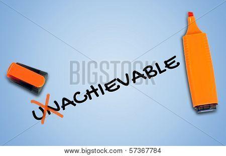 Unachievable Word