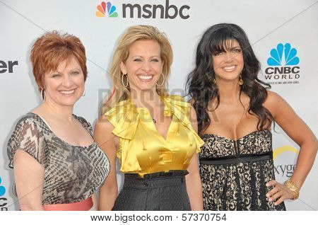 Caroline Manzo, Dina Manzo and Teresa Giudice at The Cable Show 2010: An Evening With NBC Universal, Universal Studios, Universal City, CA. 05-12-10