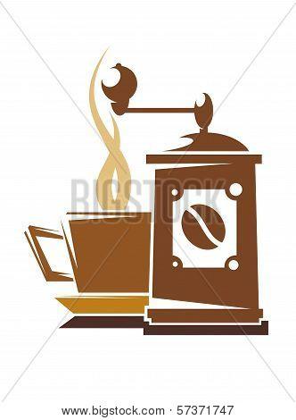Fresh full roast coffee