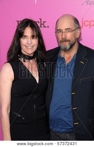 Sheila Kelley and Richard Schiff at the 12th Annual Young Hollywood Awards, Wilshire Ebell Theater, Los Angeles, CA. 05-13-10
