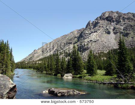 Schöne Montana - West Fork des Rock Creek
