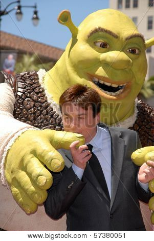 Mike Myers at the induction of Shrek into the Hollywood Walk of Fame, Hollywood, CA. 05-20-10