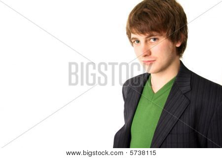 Portrait Young Adult Smiling