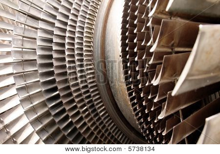 Turbine Machine Part Blades
