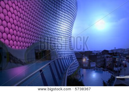 Bullring Moon Birmingham Night