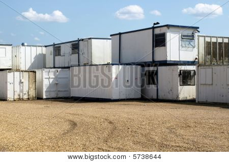 Containers and prefabricated mobile units
