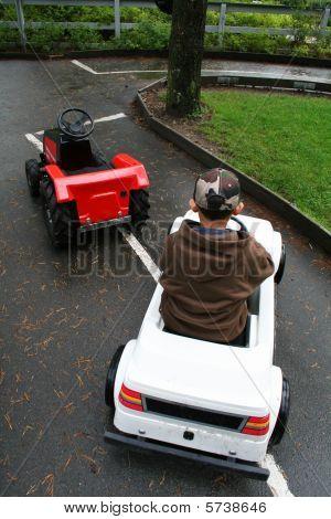 Child Car Driving