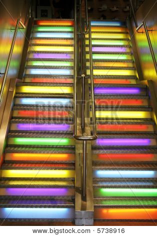 Stairs Neon Light