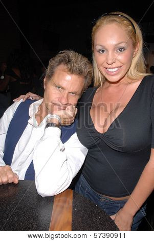 Martin Kove and Mary Carey at the Red Carpet Launch Party for
