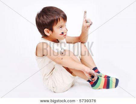 Little cute kid