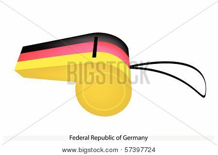 A Whistle Of Federal Republic Of Germany