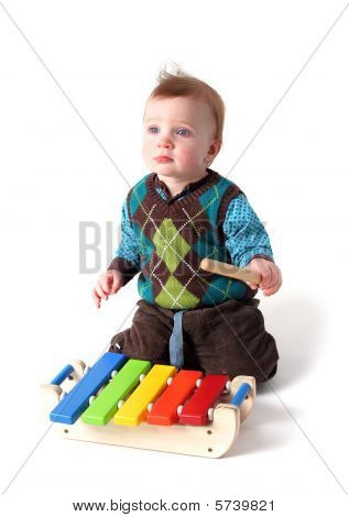 Child Music Xylophone