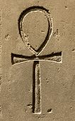 picture of ankh  - Ancient egypt symbol Ankh  - JPG