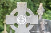 Old Irish Cemetery Cross