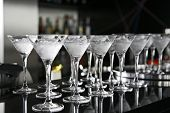 stock photo of crystal glass  - Cocktail Glass Collection  - JPG