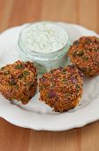 pic of quinoa  - Healthy Whole Grain Quinoa Muffins with vegetables - JPG