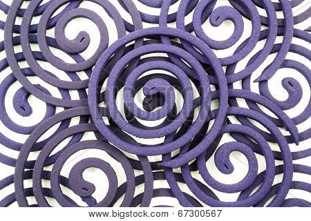 Mosquito Coil Isolated