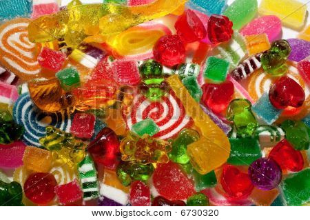 chewy jelly candy assortment