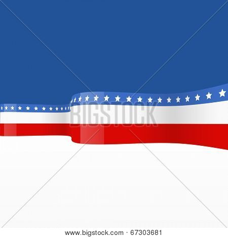 vector flag style background design