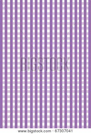 Purple Gingham Background