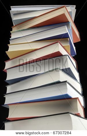 Stack with literature