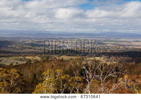 View over Cooma