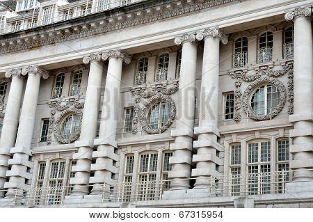 Regent Street Building Facade