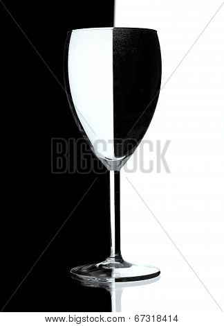 Still Life With One Glass