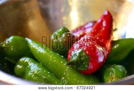 Roasted Vegetables, Prepared Outdoors.