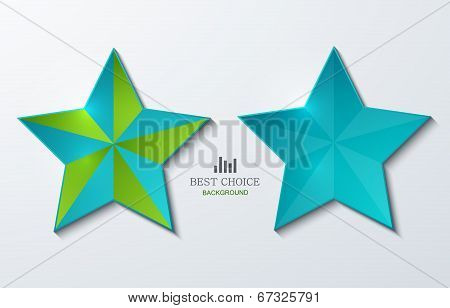 vector modern star banner background.
