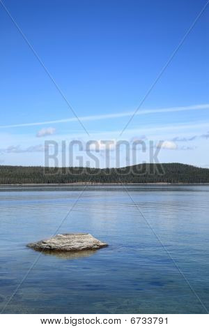 Yellowstone National Park - Fishing Cone Geyser