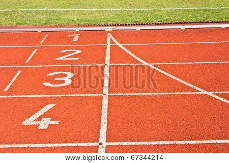 Start Running Track Rubber
